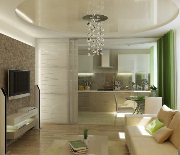 Освещение кухонной зоны