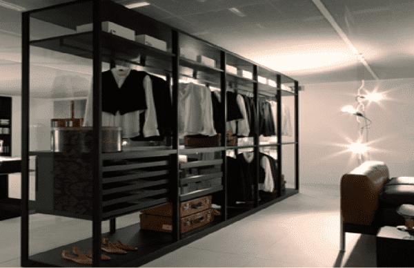 Маленький шкаф-перегородка