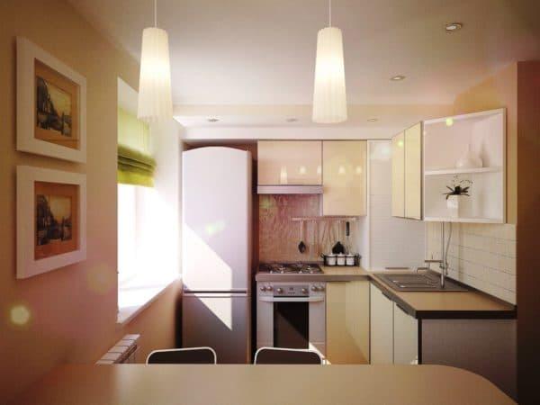 перепланировка кухни-гостиной