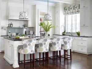 Текстиль в интерьере кухни 1