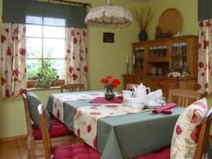 Текстиль в интерьере кухни 2
