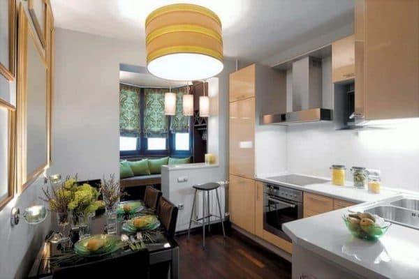 Планировка кухни 5 кв. м