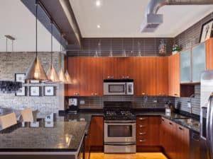 Проектирование кухни в стиле лофт 1