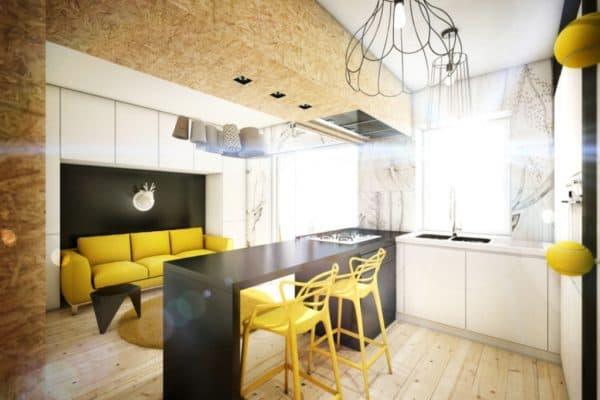 Преимущества и недостатки кухни-гостиной