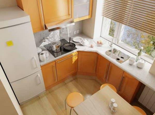 Ремонт и декор на маленькой кухне_2