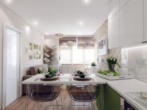 Современный дизайн кухни 3
