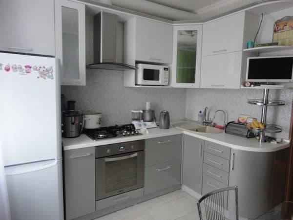Мебель на маленькой кухне_2