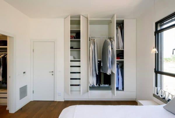 Проект гардеробной в спальне_1
