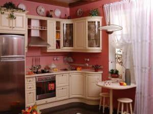 Дизайн малогабаритной кухни 3