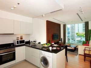 Пример зонирования кухни 2