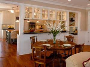 Пример зонирования кухни 3