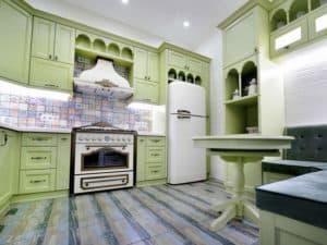 Кухня в средиземноморском стиле 1