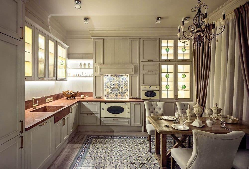 Кухонный гарнитур для средиземноморской кухни