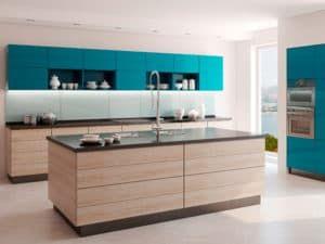 Кухонный гарнитур в стиле модерн 2