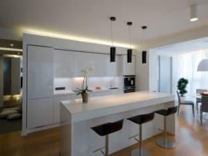 Интерьер кухни в стиле модерн 2