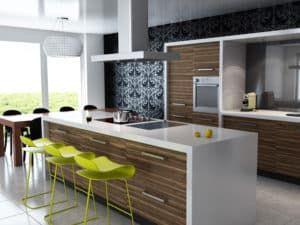 Кухонный гарнитур в стиле модерн 3