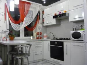 Варианты оформления кухни 9 кв. м