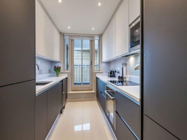 Красивые кухни 9 кв. м