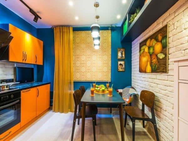Дизайн маленькой кухни 9 кв. м