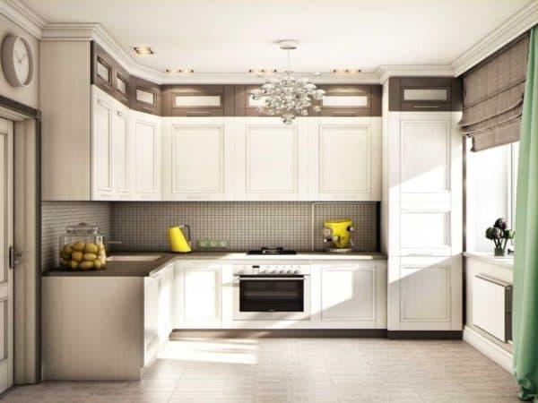 Примеры кухни 9 кв. м