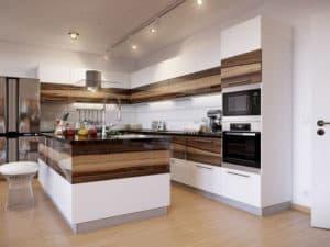 Интерьер кухни в современном стиле 3