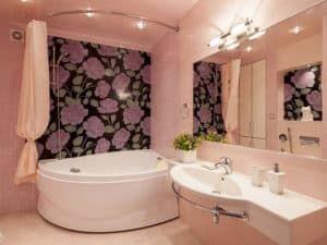 Угловая ванная 1