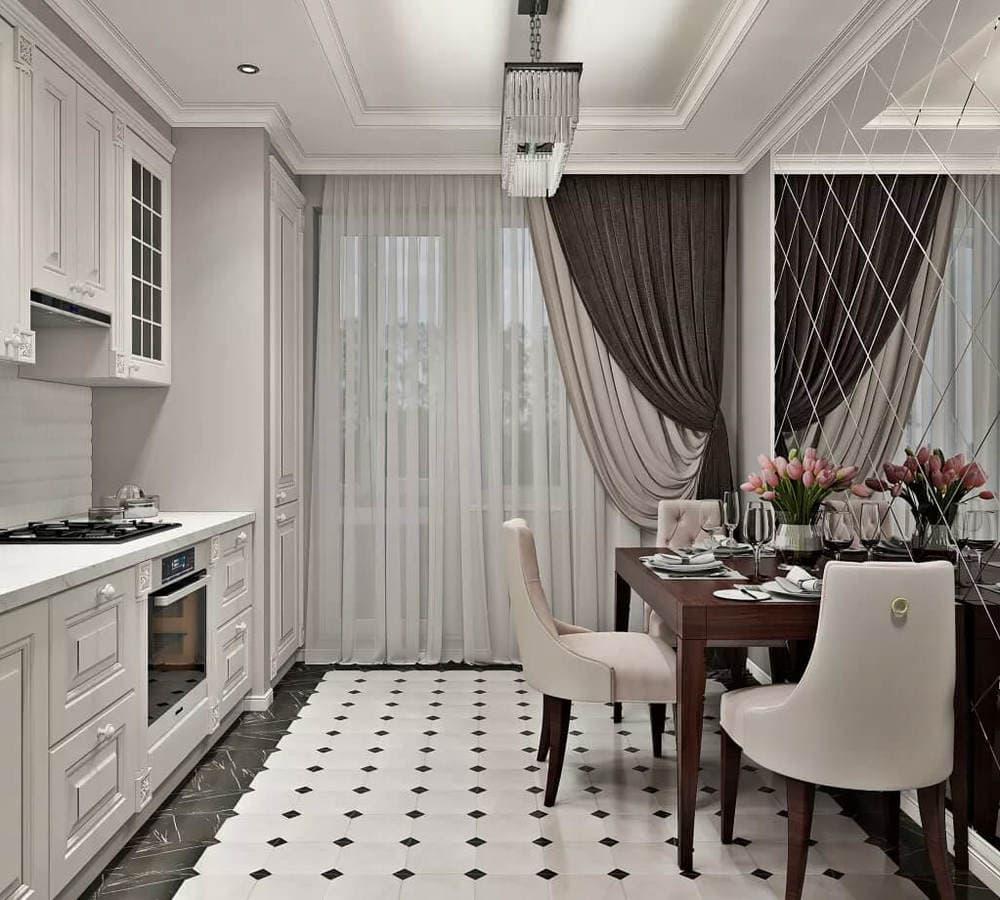 Стиль неоклассика в кухне