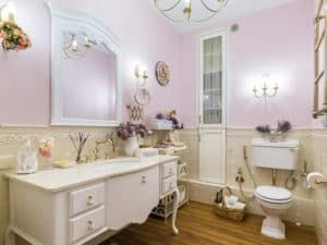 Мебель для ванной в стиле Прованс 2