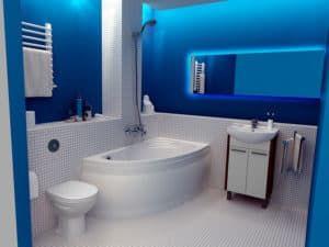 Угловая ванная 2