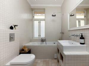 Интерьер маленькой ванной 3