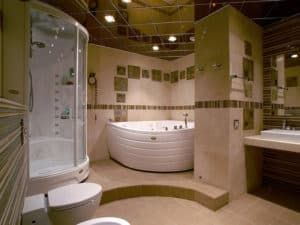 Угловая ванная 3