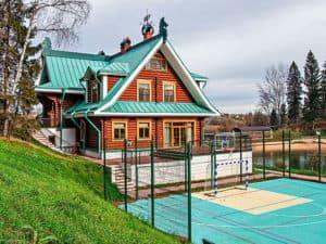Русский деревянный дом 2