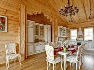Интерьер русского дома 2