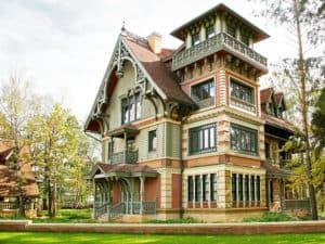 Дом в стиле русский терем 3