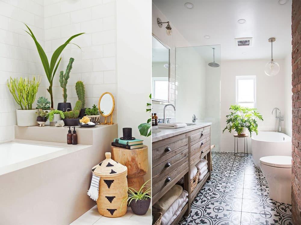 Современная ванная в классическом стиле