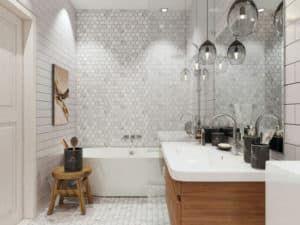 Интерьер ванной комнаты 2