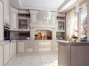 Неоклассицизм в оформлении кухни 2