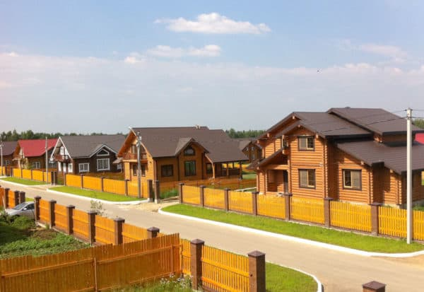 Деревянные коттеджные поселки