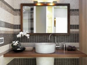 Зеркала в ванной комнате 1