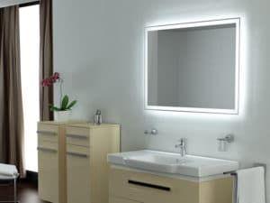 Зеркала в ванной комнате 2