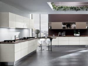 Кухонный гарнитур в стиле хай-тек 3