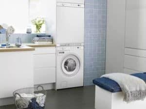 Размещение стиральной машинки в ванной 2