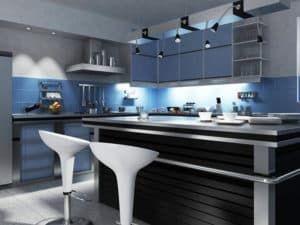 Кухня хай-тек 3