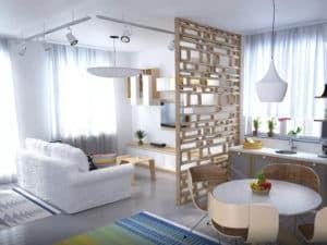 Кухня-гостиная в скандинавском стиле 2