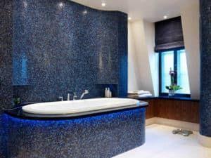 Отделка ванной комнаты 1