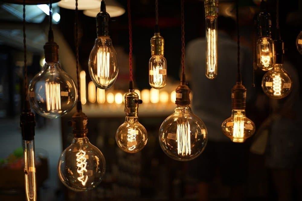 Ретро лампочки Эдисона