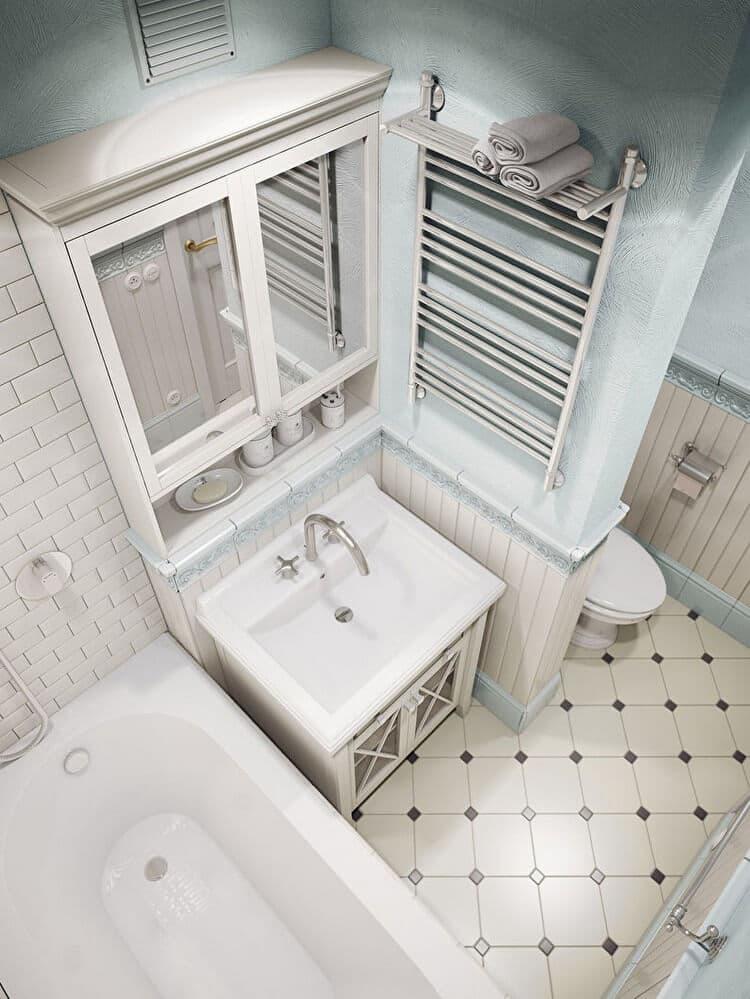 Классическая ванная комната