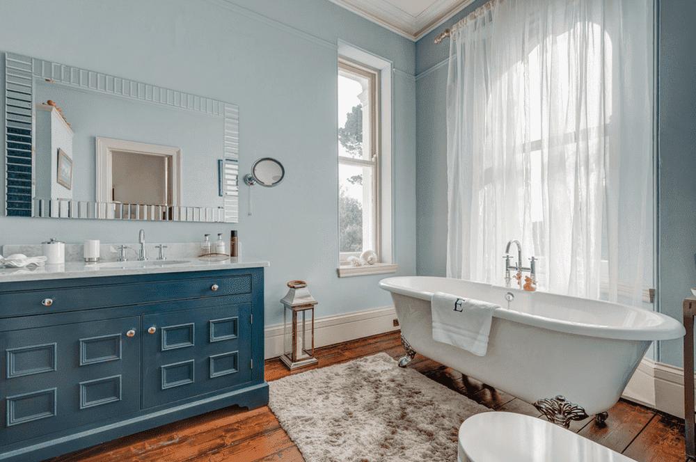 Прованский стиль в ванной комнате