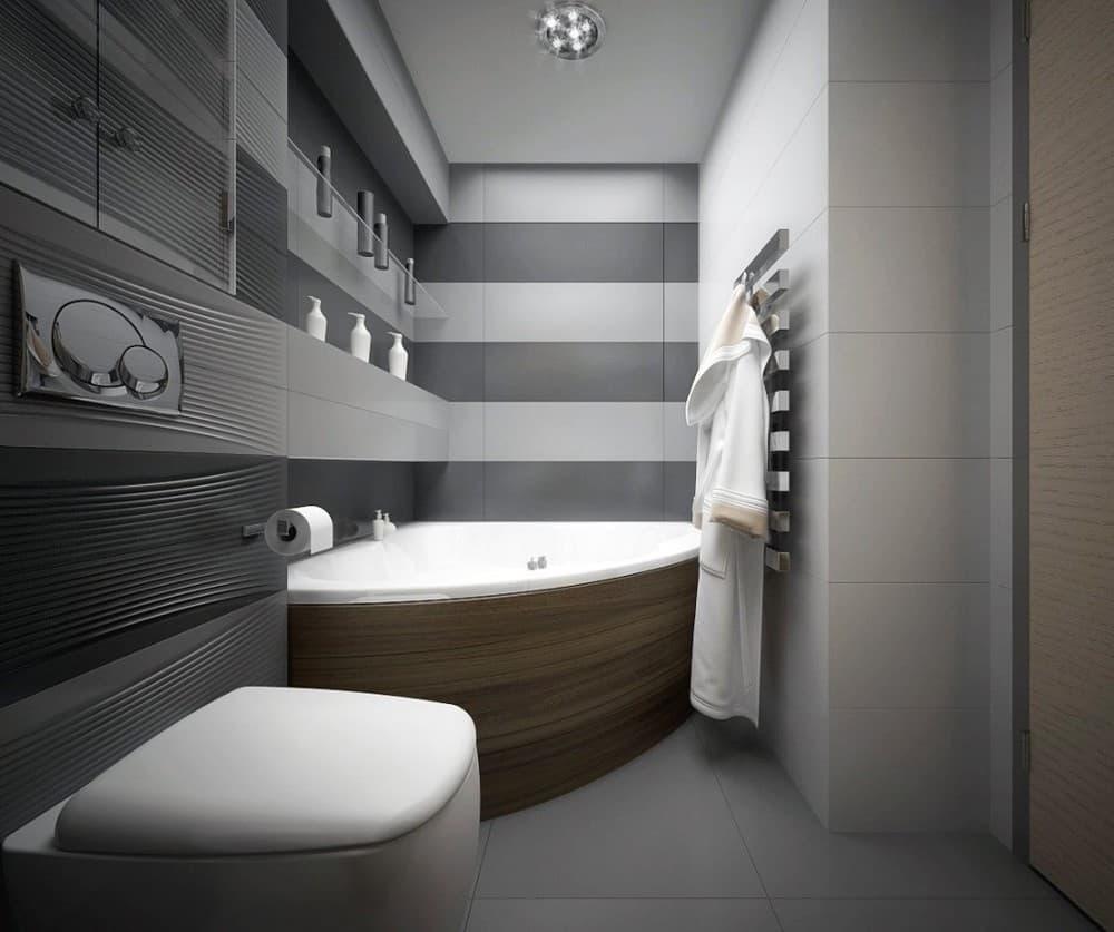 Ванная в скандинавский стиле