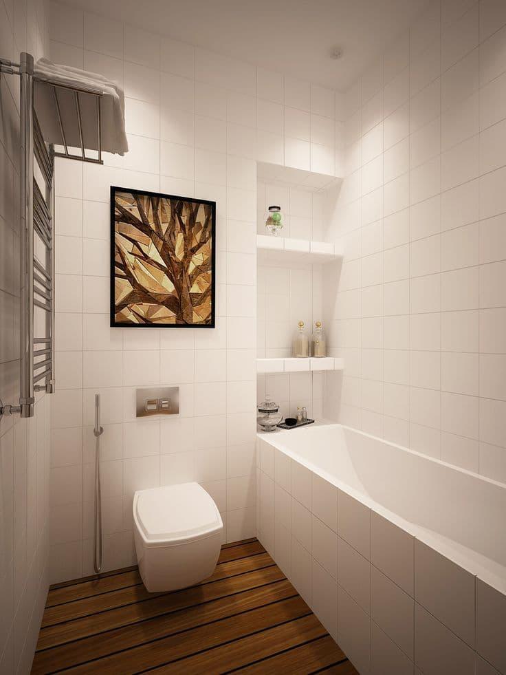 Современная стильная ванная